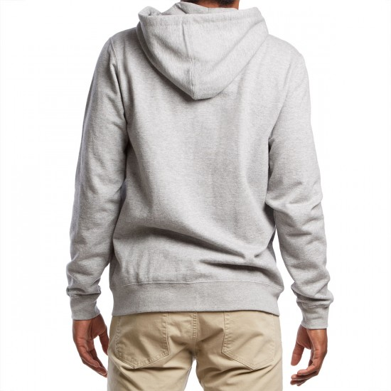 RVCA One Way Hoodie - Grey Noise