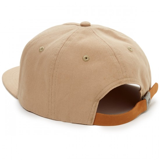 RVCA Shakes Five Panel Hat - Khaki