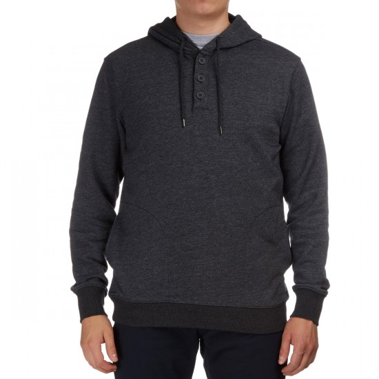 RVCA Capo Twill Hoodie - Charcoal Heather