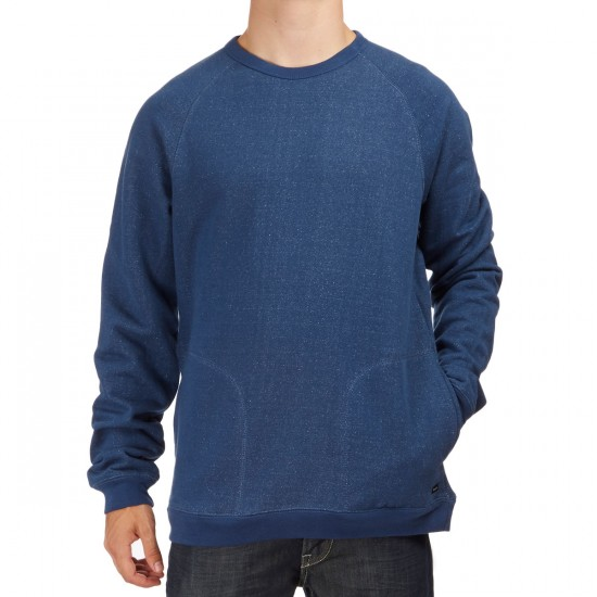 RVCA Balance Crew Sweatshirt - Dark Denim