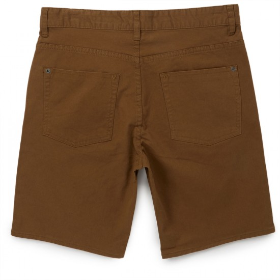 RVCA Daggers Shorts - Bark