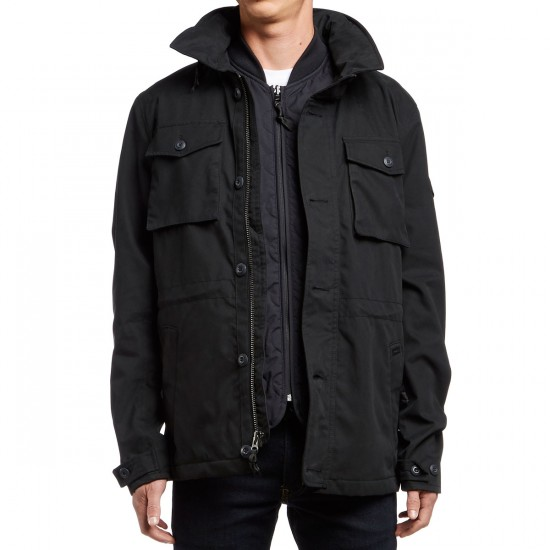 RVCA System Field Union Jacket - Black