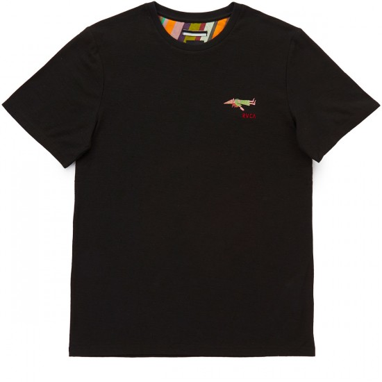 RVCA Ed Templeton T-Shirt - Black