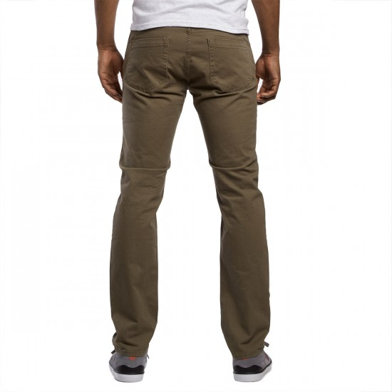 RVCA Stay RVCA Pants - Leaf - 30 - 32