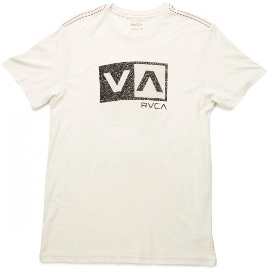 RVCA Speckle Box T-Shirt - Almond Tea