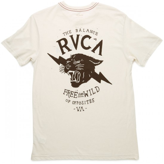 RVCA Free And Wild T-Shirt - Almond Tea
