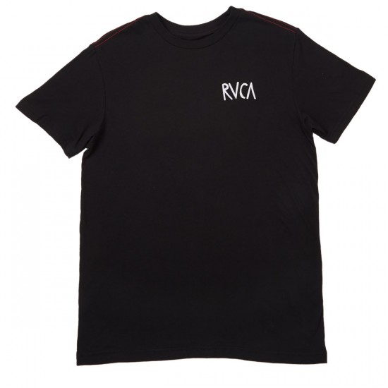 RVCA Flip Flop Box T-Shirt - Black