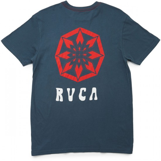 RVCA Alsweiler Flower T-Shirt - Midnight