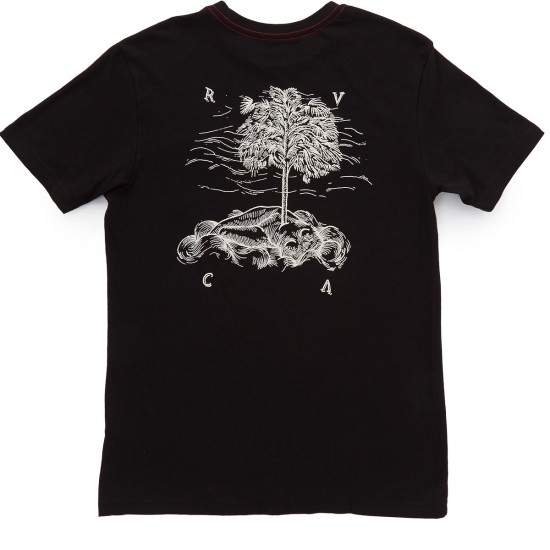 RVCA Newborn T-Shirt - Black