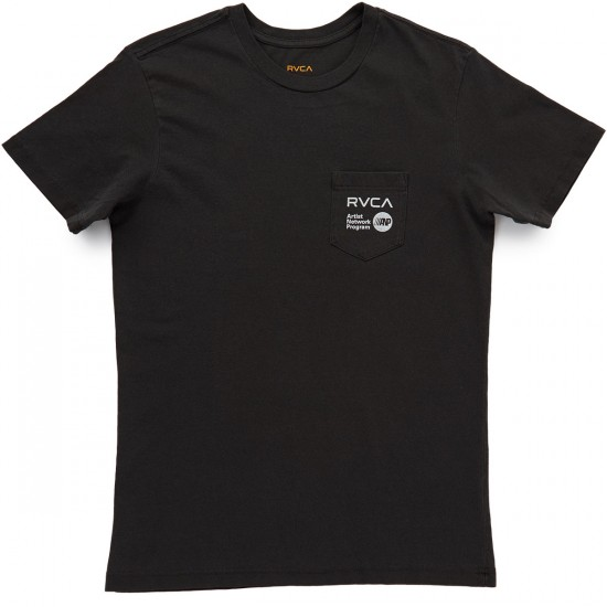 RVCA Fanfare T-Shirt - Pirate Black
