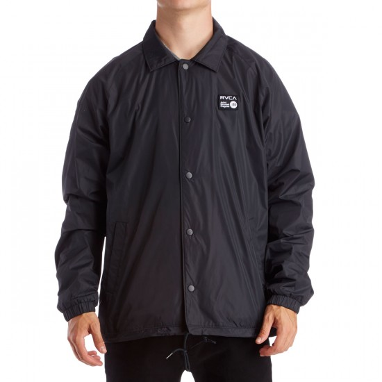 RVCA ANP Coach Jacket - Pirate Black