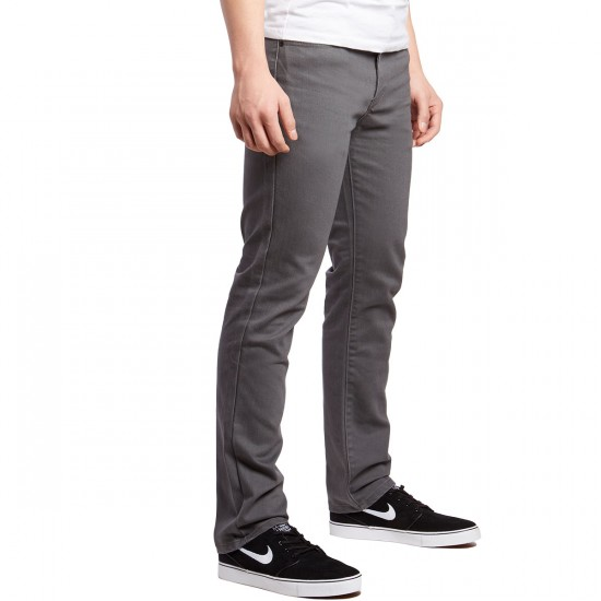 RVCA Daggers PVSH Fresh Pants - Smoke - 30 - 32