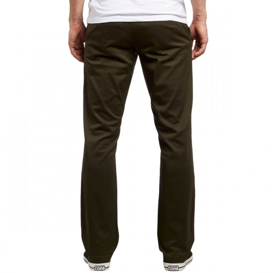 RVCA The Week-End Stretch Pants - Forest - 30 - 32