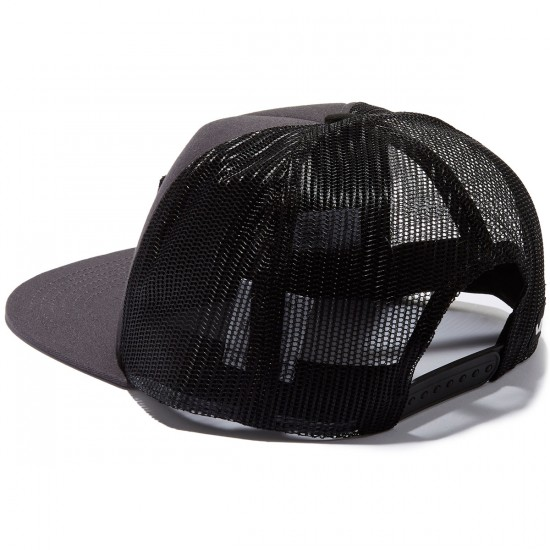 RVCA Injector Trucker Hat - Charcoal