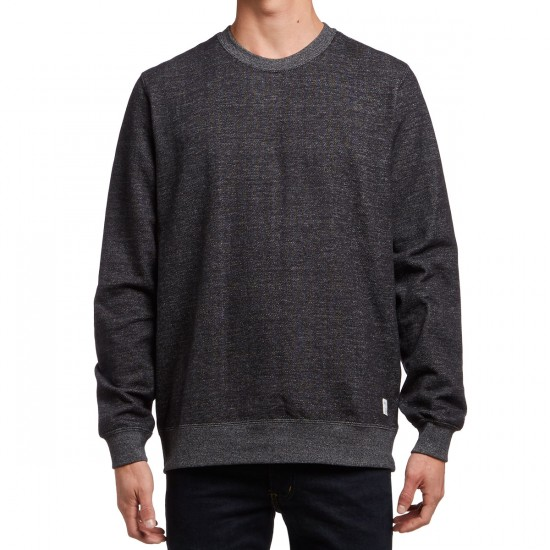 RVCA Coastal Patch Crewneck Sweatshirt - Black