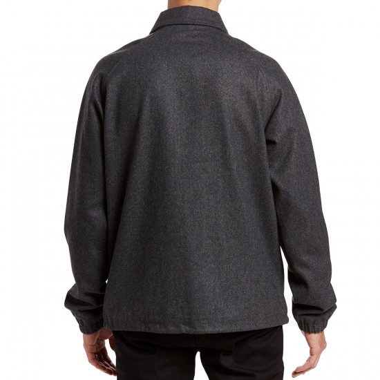 RVCA Wrenchman Coaches Jacket - Grey Noise