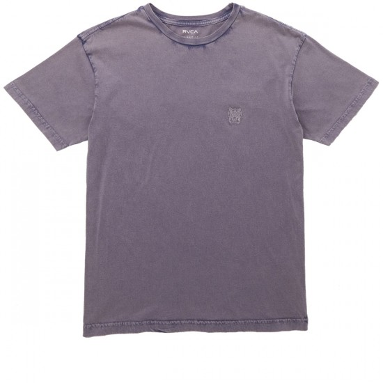 RVCA Sun Wash Crew T-Shirt - Smoke Purple