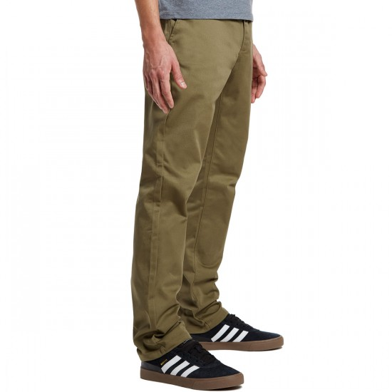 RVCA The Week-End Pants - Dusky Green - 30 - 32