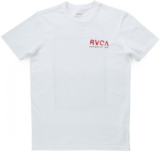 RVCA Haunted Fence T-Shirt - White