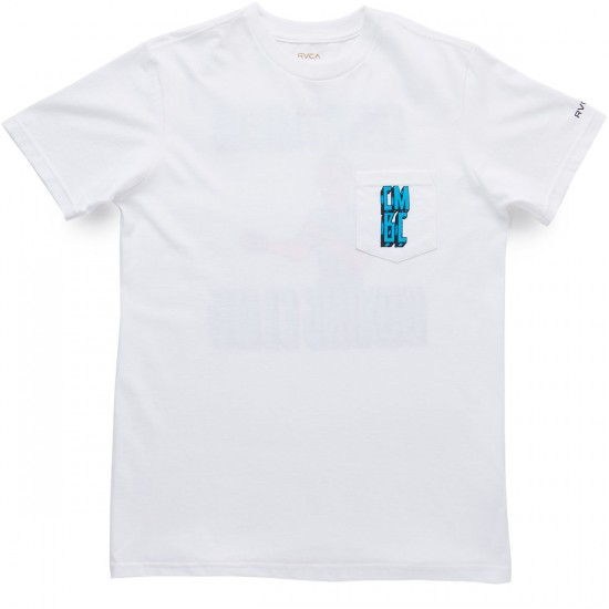 RVCA Costa Mesa Boxing Club T-Shirt - White