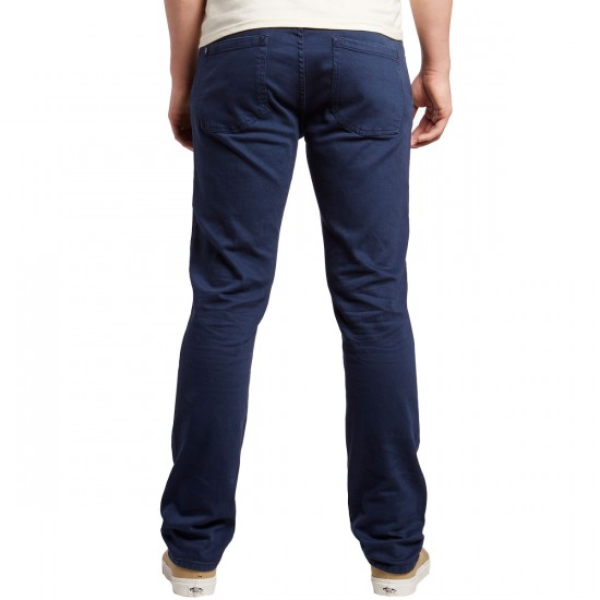 RVCA Daggers Pigment Denim Pants - Federal Blue - 30 - 32