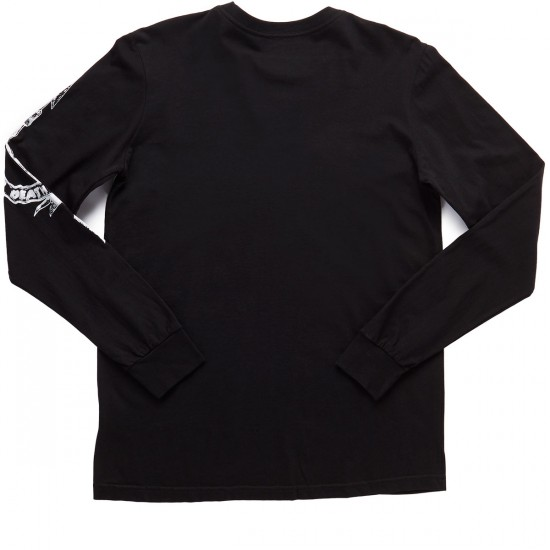 RVCA Victory or Death Long Sleeve T-Shirt - Black
