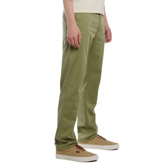 RVCA Weekend Stretch Pants - Cadet Green - 30 - 32