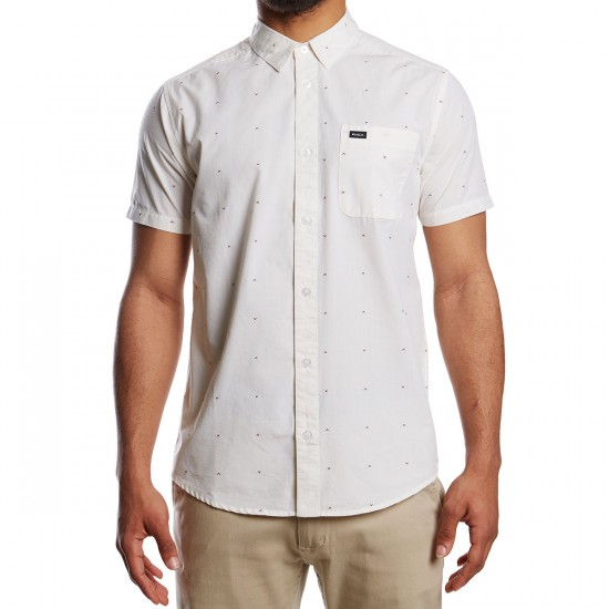 RVCA VA Dobby Shirt - Antique White