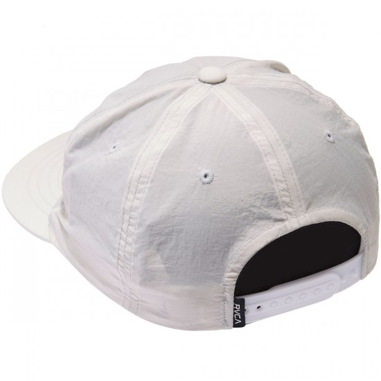 RVCA Layd Back Snapback Hat - Off White