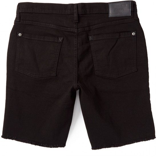 RVCA Hex Cutoff Shorts - Black Black