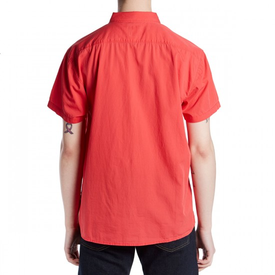 RVCA Front Lawn Shirt - Poppy Red