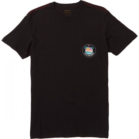 RVCA Island Pocket T-shirt - Black