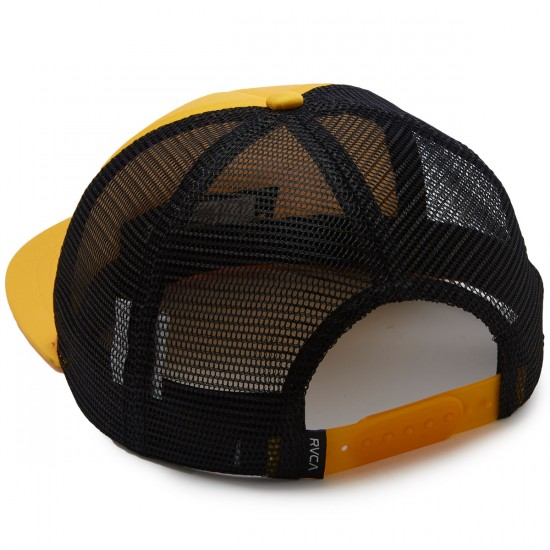 RVCA Foamy Trucker Hat - Dark Yellow