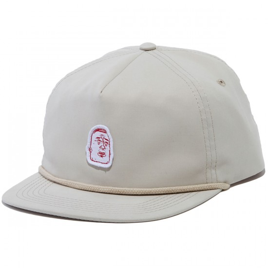 RVCA DFW Snapback Hat - Off White