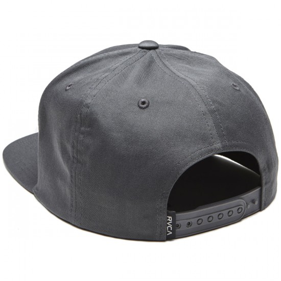 RVCA VA Snapback II Hat - Grey Blue