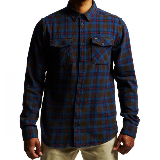 RVCA Thatll Work Flannel Shirt - Chocolate