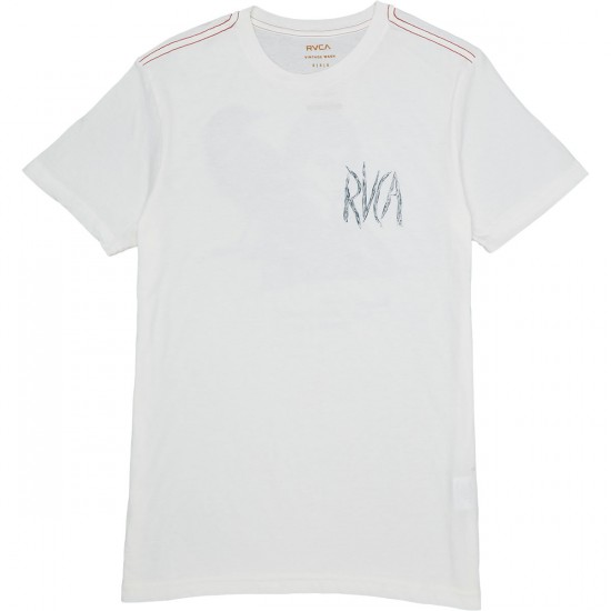 RVCA Caw T-Shirt - Antique White