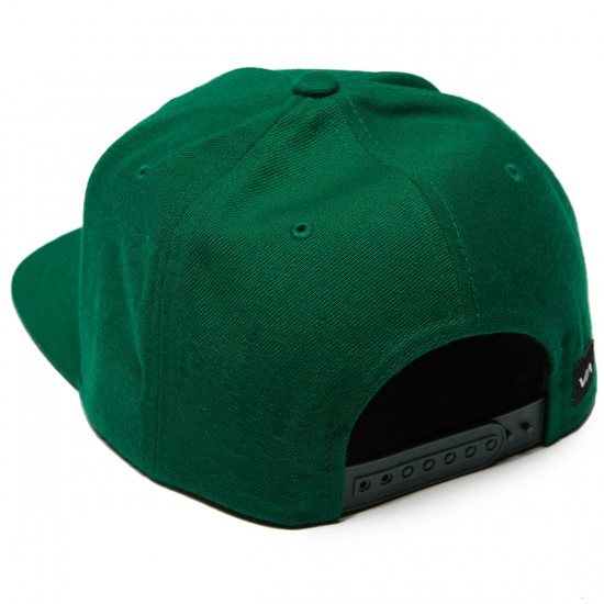 RVCA Commonwealth Snapback Hat - Forest