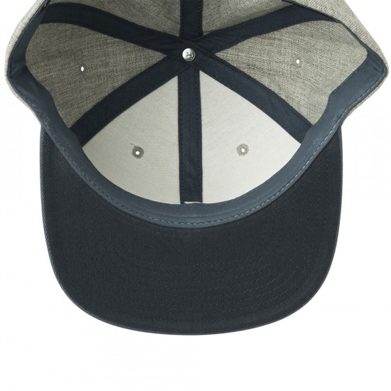 RVCA VA Snapback II Hat - Blue Heather