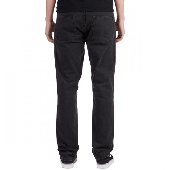 RVCA Daggers Denim Pants - Vintage Black - 32 - 32