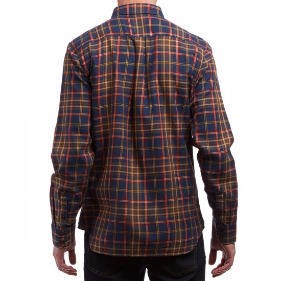 Vans X Only NY Flannel Shirt - Dress Blues