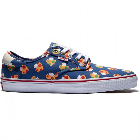 Vans Chima Ferguson Pro Shoes - Mushrooms Blue/White - 8.0