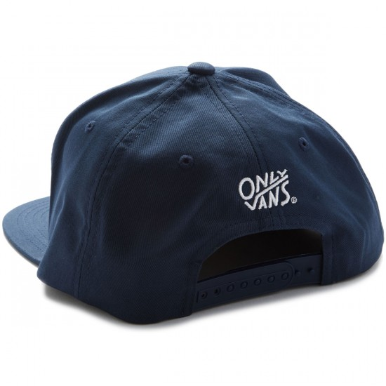 Vans X Only Loon Society Snapback Hat - Dress Blues