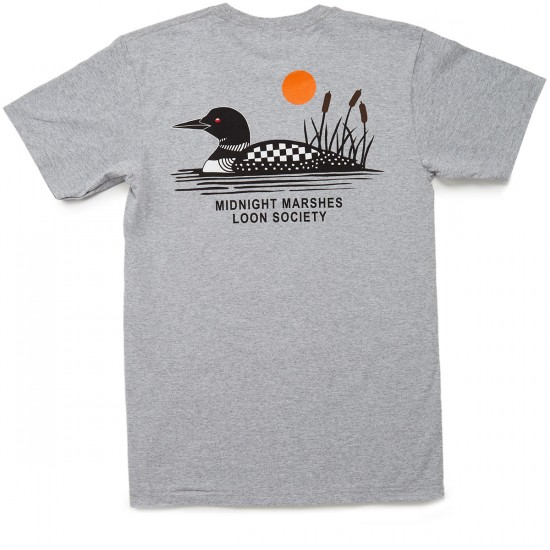Vans X Only Marshes T-Shirt - Athletic Heather