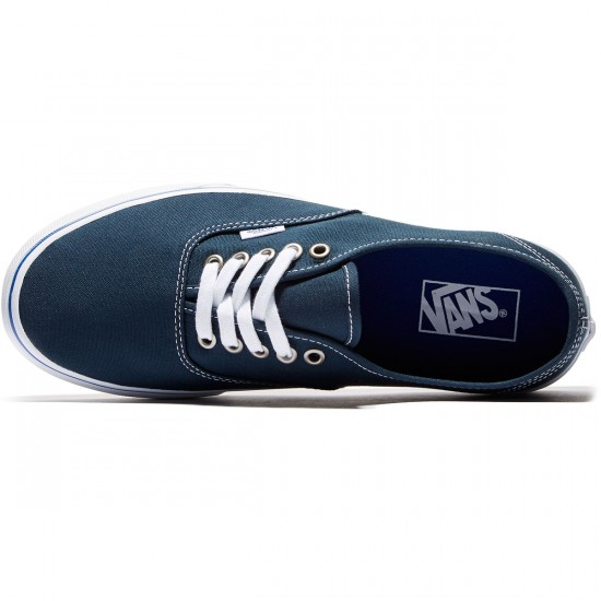 Vans Original Authentic Shoes - Midnight/Navy/True White - 8.0