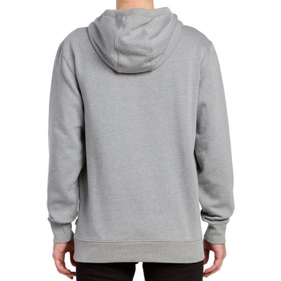 Vans Vans Classic Pullover Hoodie - Cement Heather/Baltic Decay Palm