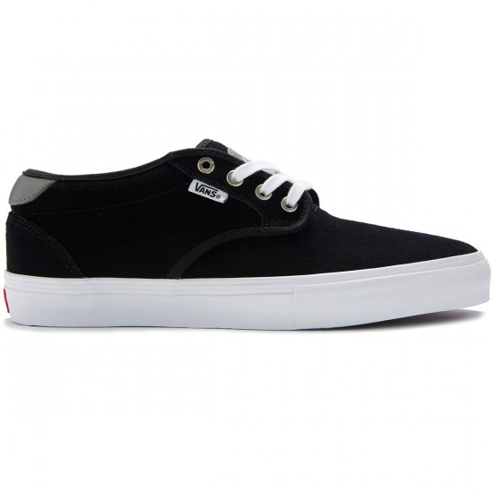 Vans Chima Estate Pro Shoes - Suede Black/White - 8.0