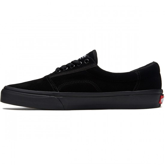 Vans Rowley Solos Shoes - Black/Black/Black - 8.0