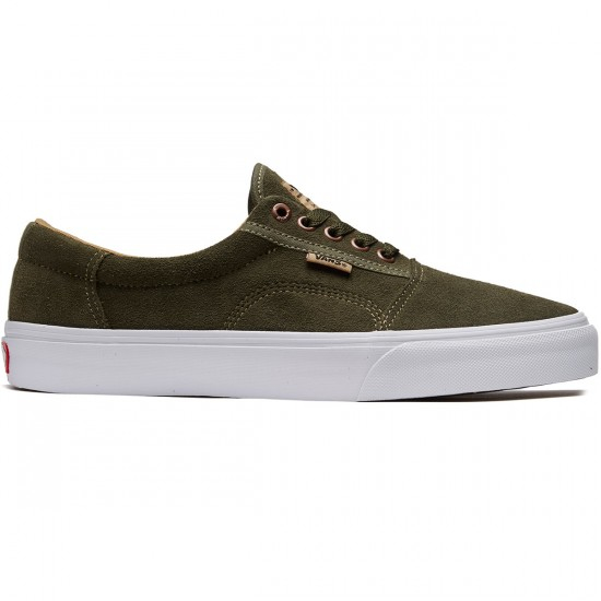 Vans Rowley Solos Shoes - Grape Leaf/Khaki - 8.5