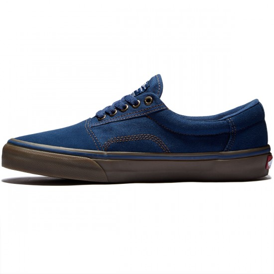 Vans Rowley Solos Shoes - Navy/Gum - 8.0